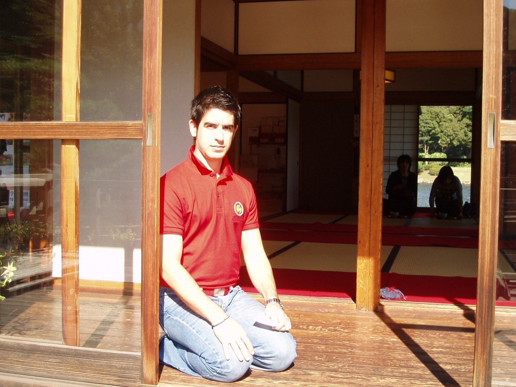 Durante mi visita a Japón enNov'06