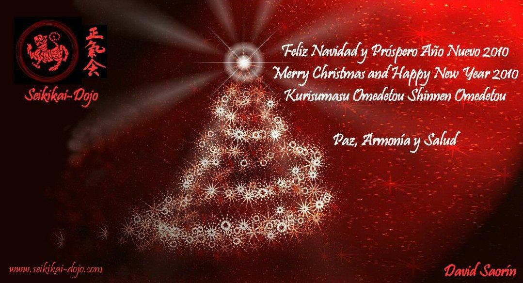 Feliz navidad y pr spero a o nuevo 2010 david saor n - Dedicatorias para navidad y ano nuevo ...